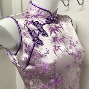💜Nice Purple Lavender Traditional Chinese dress👗